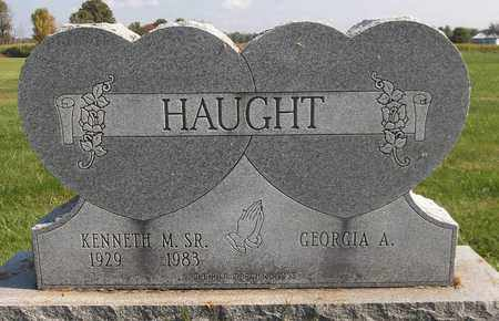 HAUGHT, KENNETH M., SR. - Trumbull County, Ohio | KENNETH M., SR. HAUGHT - Ohio Gravestone Photos