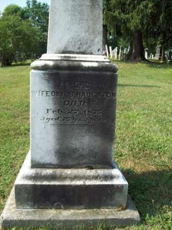 HAUGHTON, ABIGAIL - Trumbull County, Ohio | ABIGAIL HAUGHTON - Ohio Gravestone Photos