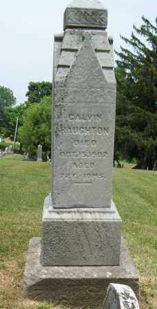 HAUGHTON, CALVIN - Trumbull County, Ohio | CALVIN HAUGHTON - Ohio Gravestone Photos
