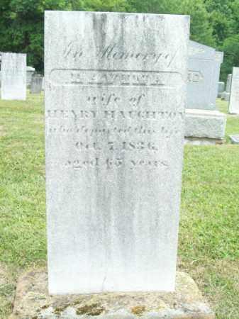 HAUGHTON, LAVINA - Trumbull County, Ohio | LAVINA HAUGHTON - Ohio Gravestone Photos