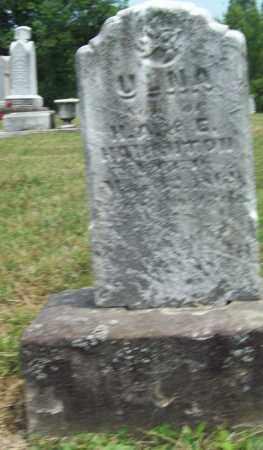 HAUGHTON, ULNA - Trumbull County, Ohio | ULNA HAUGHTON - Ohio Gravestone Photos