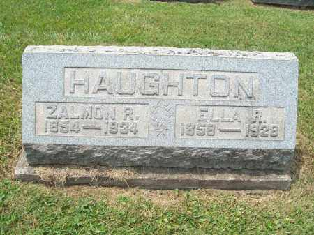 HAUGHTON, ZALMON R. - Trumbull County, Ohio | ZALMON R. HAUGHTON - Ohio Gravestone Photos