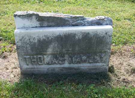 HAWLEY, THOMAS - Trumbull County, Ohio   THOMAS HAWLEY - Ohio Gravestone Photos