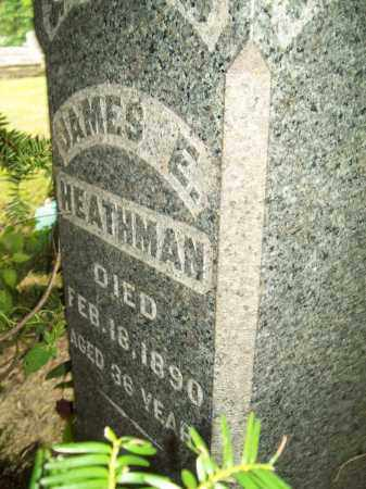 HEATHMAN, JAMES E. - Trumbull County, Ohio | JAMES E. HEATHMAN - Ohio Gravestone Photos