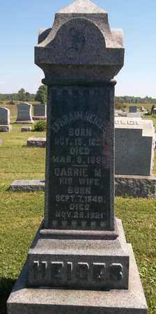 HEIGES, CARRIE M. - Trumbull County, Ohio   CARRIE M. HEIGES - Ohio Gravestone Photos