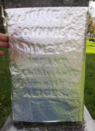 HEIGES, LIBBIE - Trumbull County, Ohio | LIBBIE HEIGES - Ohio Gravestone Photos