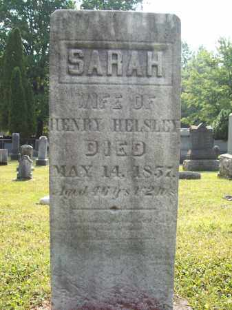 HELSLEY, SARAH - Trumbull County, Ohio | SARAH HELSLEY - Ohio Gravestone Photos