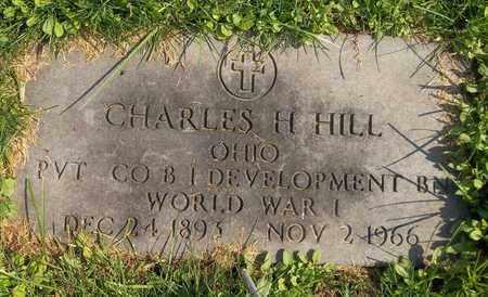 HILL, CHARLES H. - Trumbull County, Ohio | CHARLES H. HILL - Ohio Gravestone Photos