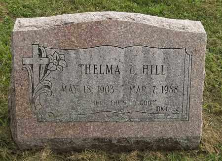 HILL, THELMA L. - Trumbull County, Ohio   THELMA L. HILL - Ohio Gravestone Photos