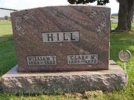 HILL, WILLIAM T. - Trumbull County, Ohio | WILLIAM T. HILL - Ohio Gravestone Photos