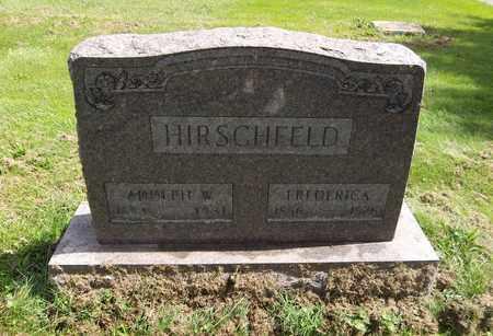 HIRSCHFELD, ADOLPH W. - Trumbull County, Ohio | ADOLPH W. HIRSCHFELD - Ohio Gravestone Photos