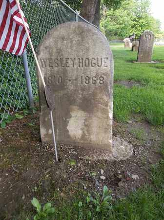 HOGUE, WESLEY - Trumbull County, Ohio | WESLEY HOGUE - Ohio Gravestone Photos
