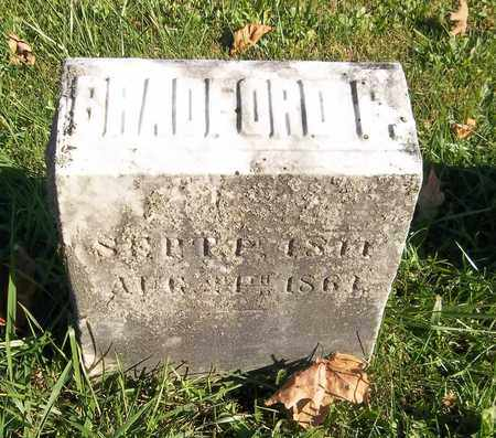 HOLCOMB, BRADFORD F. - Trumbull County, Ohio   BRADFORD F. HOLCOMB - Ohio Gravestone Photos