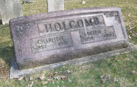 HOLCOMB, CHARLES E. - Trumbull County, Ohio | CHARLES E. HOLCOMB - Ohio Gravestone Photos