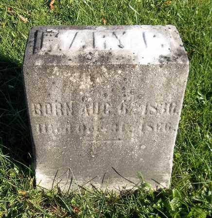 HOLCOMB, MARY - Trumbull County, Ohio   MARY HOLCOMB - Ohio Gravestone Photos