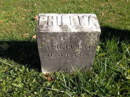 HOLCOMB, PHILENA - Trumbull County, Ohio | PHILENA HOLCOMB - Ohio Gravestone Photos