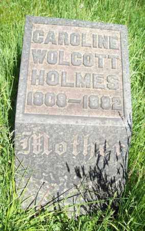 HOLMES, CAROLINE - Trumbull County, Ohio | CAROLINE HOLMES - Ohio Gravestone Photos