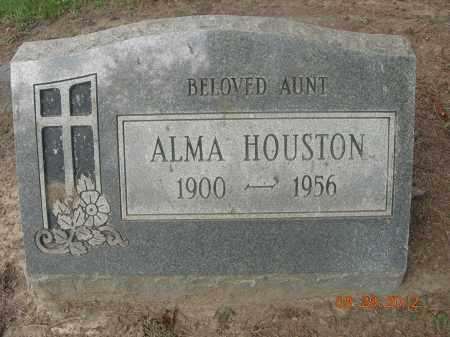 HOUSTON, ALMA - Trumbull County, Ohio | ALMA HOUSTON - Ohio Gravestone Photos