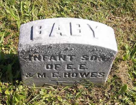 HOWES, INFANT SON - Trumbull County, Ohio | INFANT SON HOWES - Ohio Gravestone Photos
