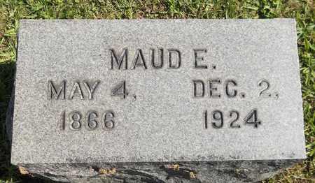 HOWES, MAUD E. - Trumbull County, Ohio   MAUD E. HOWES - Ohio Gravestone Photos