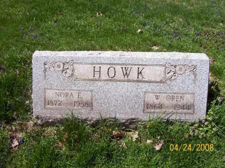 HOWK, NORA E. - Trumbull County, Ohio   NORA E. HOWK - Ohio Gravestone Photos
