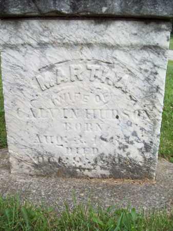 HUDSON, MARTHA - Trumbull County, Ohio | MARTHA HUDSON - Ohio Gravestone Photos