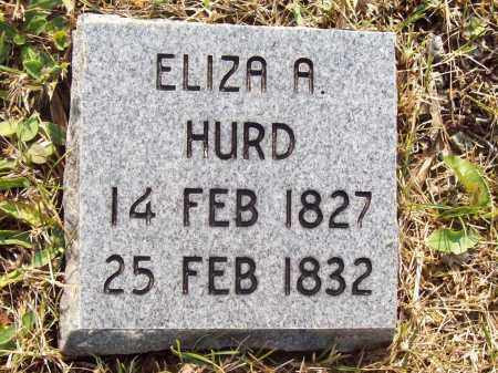 HURD, ELIZA A. - Trumbull County, Ohio   ELIZA A. HURD - Ohio Gravestone Photos