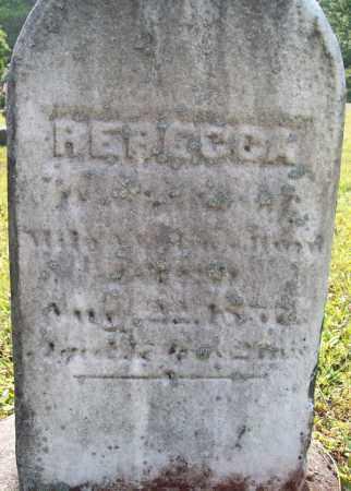 HURD, REBECCA - Trumbull County, Ohio | REBECCA HURD - Ohio Gravestone Photos