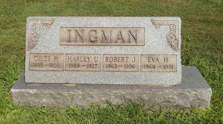 INGMAN, GILES H. - Trumbull County, Ohio | GILES H. INGMAN - Ohio Gravestone Photos