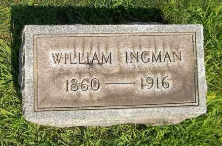 INGMAN, WILLIAM - Trumbull County, Ohio   WILLIAM INGMAN - Ohio Gravestone Photos