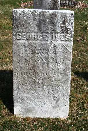 IVES, GEORGE - Trumbull County, Ohio   GEORGE IVES - Ohio Gravestone Photos