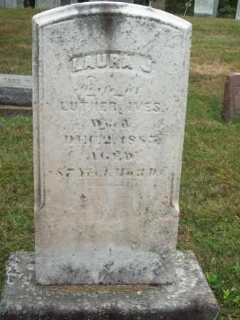 IVES, LAURA J. - Trumbull County, Ohio   LAURA J. IVES - Ohio Gravestone Photos