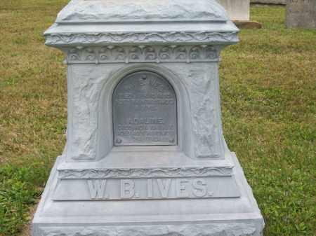 IVES, WILLIAM B. - Trumbull County, Ohio | WILLIAM B. IVES - Ohio Gravestone Photos