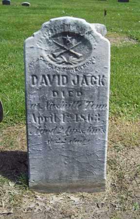 JACK, DAVID - Trumbull County, Ohio   DAVID JACK - Ohio Gravestone Photos