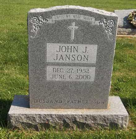 JANSON, JOHN J. - Trumbull County, Ohio   JOHN J. JANSON - Ohio Gravestone Photos