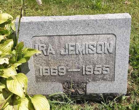 JEMISON, IRA - Trumbull County, Ohio   IRA JEMISON - Ohio Gravestone Photos