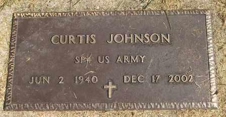 JOHNSON, CURTIS - Trumbull County, Ohio | CURTIS JOHNSON - Ohio Gravestone Photos