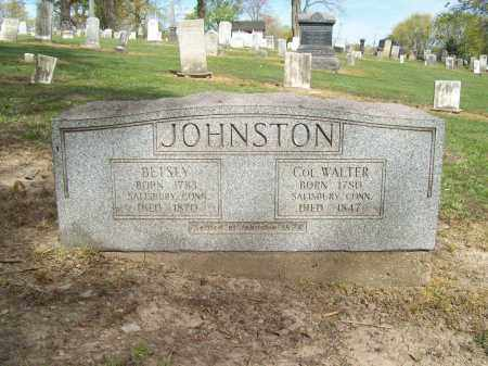 JOHNSTON, BETSEY - Trumbull County, Ohio | BETSEY JOHNSTON - Ohio Gravestone Photos