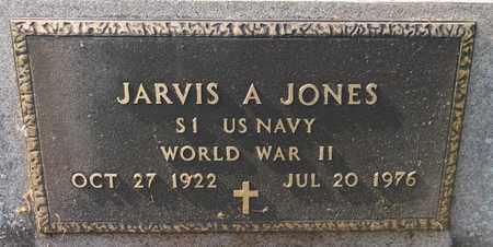 JONES, JAVIS A. - Trumbull County, Ohio | JAVIS A. JONES - Ohio Gravestone Photos