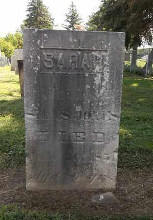 JONES, SARAH - Trumbull County, Ohio | SARAH JONES - Ohio Gravestone Photos