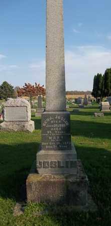 JOSLIN, BENJAMIN - Trumbull County, Ohio | BENJAMIN JOSLIN - Ohio Gravestone Photos