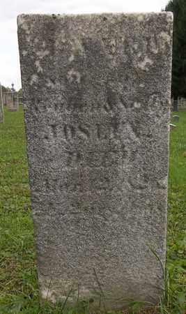 JOSLIN, EDWARD - Trumbull County, Ohio | EDWARD JOSLIN - Ohio Gravestone Photos