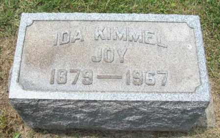 KIMMEL JOY, IDA - Trumbull County, Ohio | IDA KIMMEL JOY - Ohio Gravestone Photos
