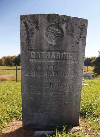 KAGY, CATHARINE - Trumbull County, Ohio | CATHARINE KAGY - Ohio Gravestone Photos