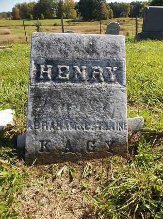KAGY, HENRY - Trumbull County, Ohio | HENRY KAGY - Ohio Gravestone Photos