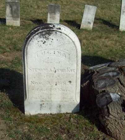 KEE, LUCINA - Trumbull County, Ohio   LUCINA KEE - Ohio Gravestone Photos