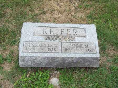 KEIFER, CHRISTOPHER W. - Trumbull County, Ohio | CHRISTOPHER W. KEIFER - Ohio Gravestone Photos