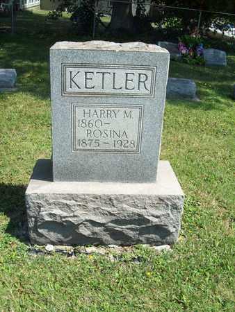 KETLER, ROSINA - Trumbull County, Ohio   ROSINA KETLER - Ohio Gravestone Photos