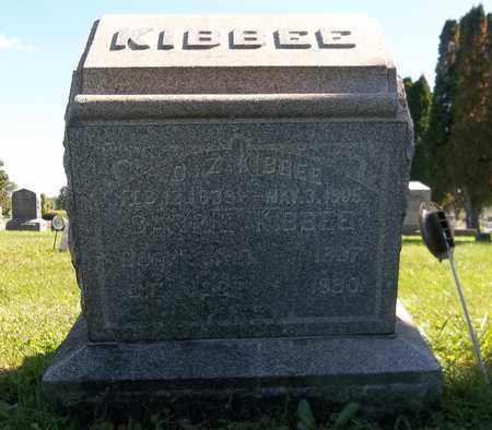 KIBBEE, ORMOND Z. - Trumbull County, Ohio | ORMOND Z. KIBBEE - Ohio Gravestone Photos