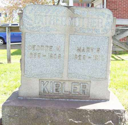 MILLER KIBLER, MARY E. - Trumbull County, Ohio | MARY E. MILLER KIBLER - Ohio Gravestone Photos